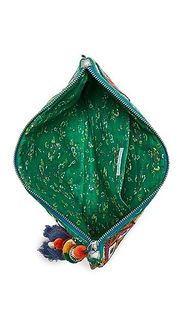Star Mela Клатч Raji с вышивкой
