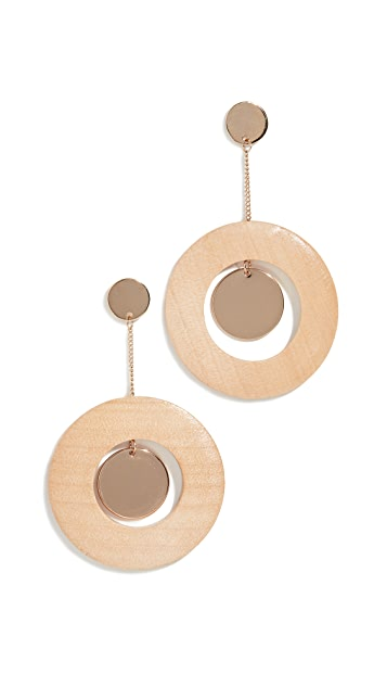 Sophie Monet The Disco Dot Earrings