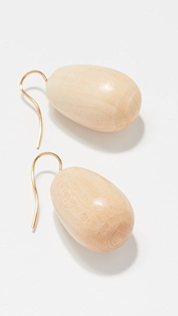 Sophie Monet The Egg Earrings