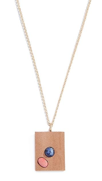 Sophie Monet The Kiss Pendant Necklace
