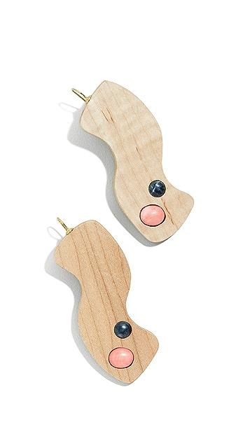 Sophie Monet The Kiss Earrings
