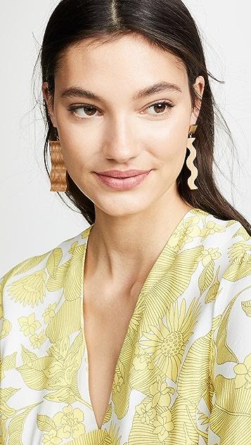 Sophie Monet The Ripple Earrings
