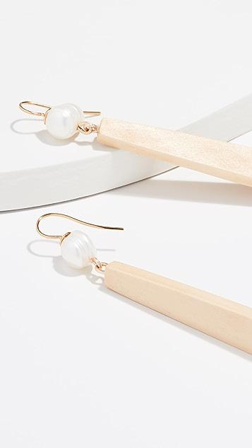 Sophie Monet 珍珠数字耳环