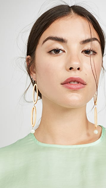 Sophie Monet The Ellipse Earrings
