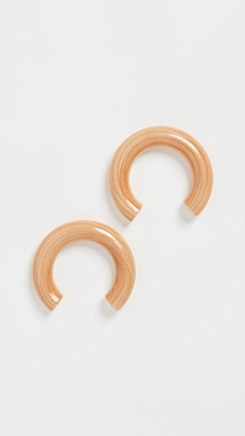 Sophie Monet Sophie Monet x Nanushka Curve Earrings