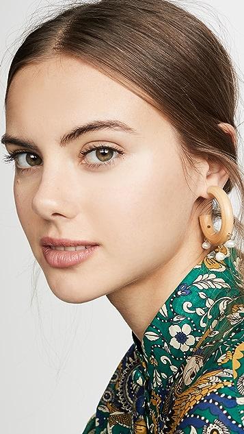 Sophie Monet The Pearl Fairy Earrings