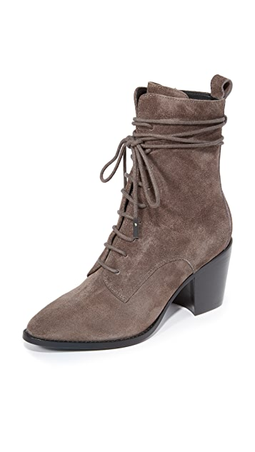 Sigerson Morrison Duran Lace Up Booties