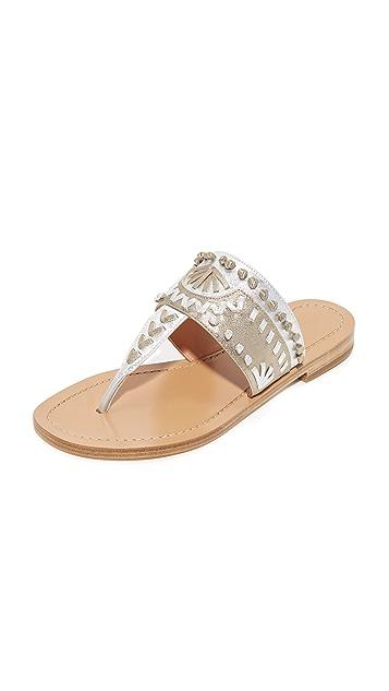 60f88542c Sigerson Morrison Aliyah Embroidered Sandals | SHOPBOP