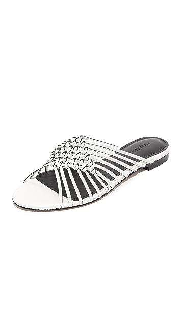 a36be71c1 Sigerson Morrison Aggie Woven Slide Sandals | SHOPBOP