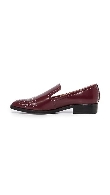 Sigerson Morrison Edna Studded Loafers