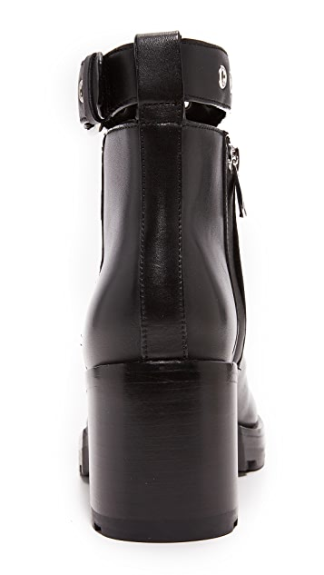 Sigerson Morrison Glove Buckle Booties