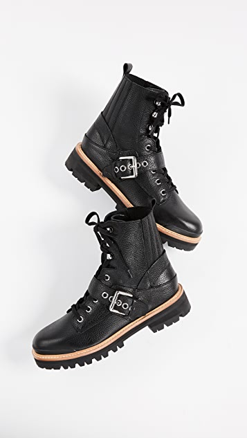 Sigerson Morrison Ida Buckle Boots