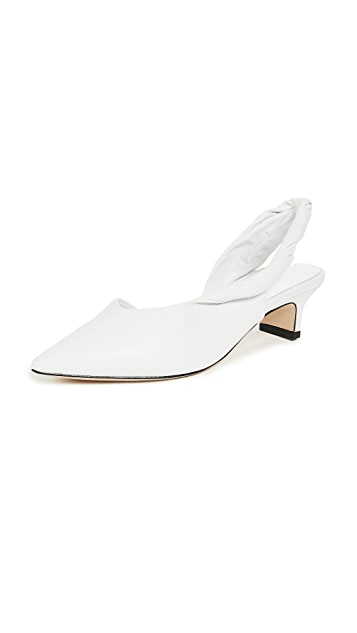 Sigerson Morrison Melina Point Toe Slingbacks