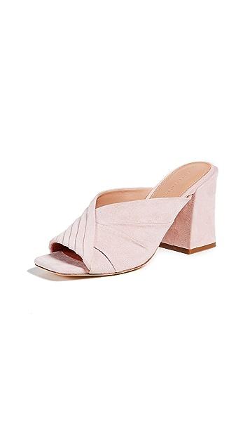 Sigerson Morrison Pramod Block Heel Sandals