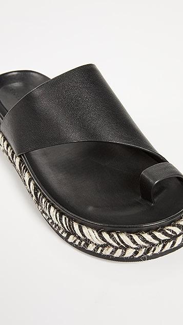 Sigerson Morrison Laddie Asymetrical Slides