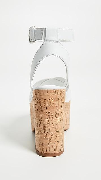 Sigerson Morrison Becca Platform Sandals