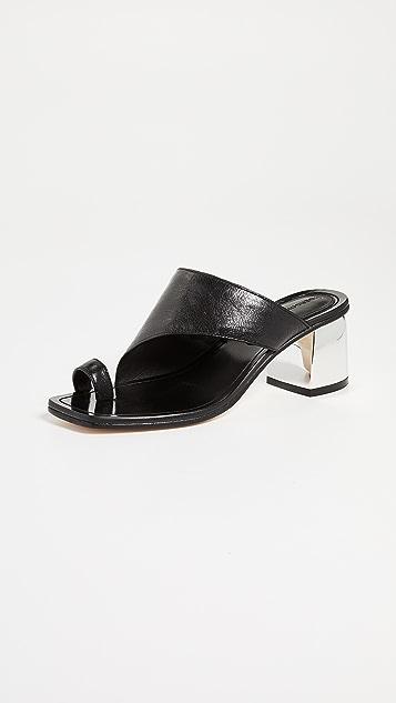 Sigerson Morrison Marcel Asymetrical Sandals