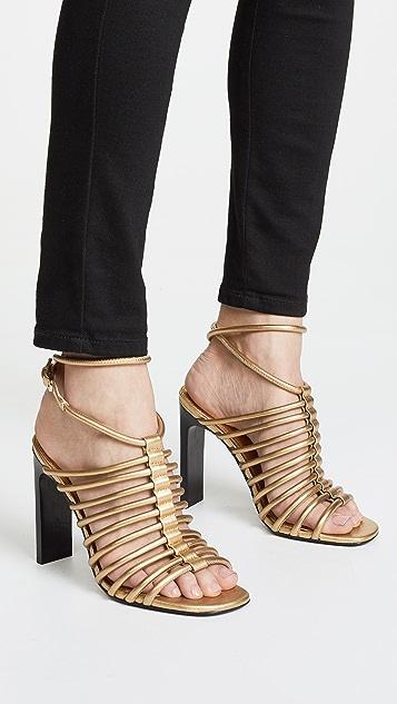 Sigerson Morrison Ilyssa Tubular Sandals