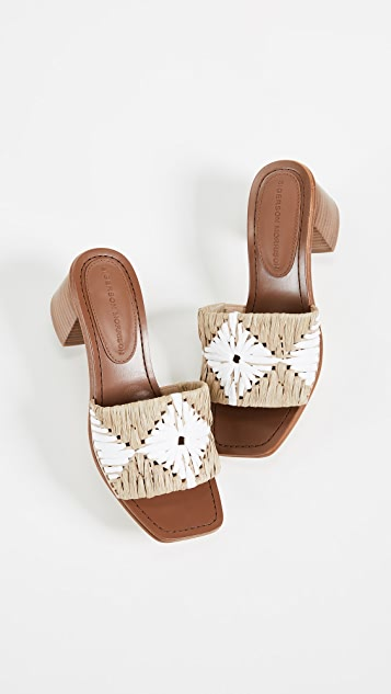 Sigerson Morrison Marnin Block Heel Sandals