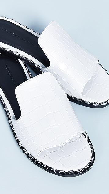 Sigerson Morrison Estee Textured Slides