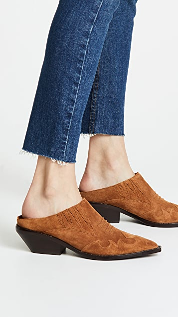 Sigerson Morrison Tabitha Point Toe Mules