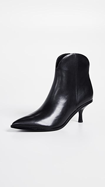 Sigerson Morrison Hayleigh Point Toe Booties