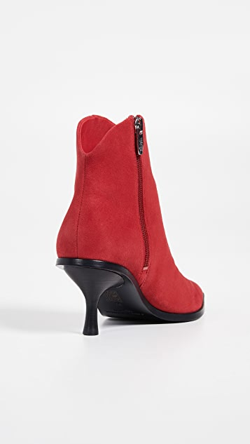 Sigerson Morrison Hayliegh Point Toe Booties