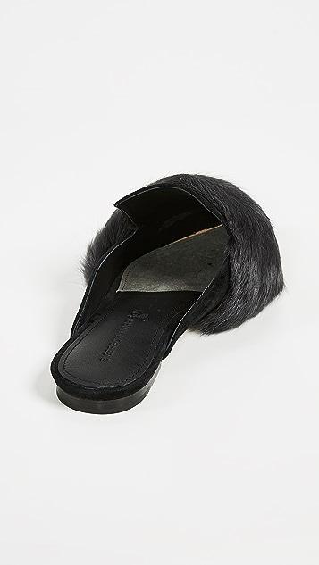 Sigerson Morrison Туфли без задников Dawn с остроконечным мыском