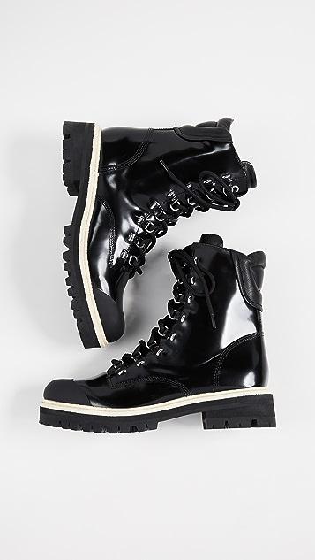 Sigerson Morrison Irene Combat Boots