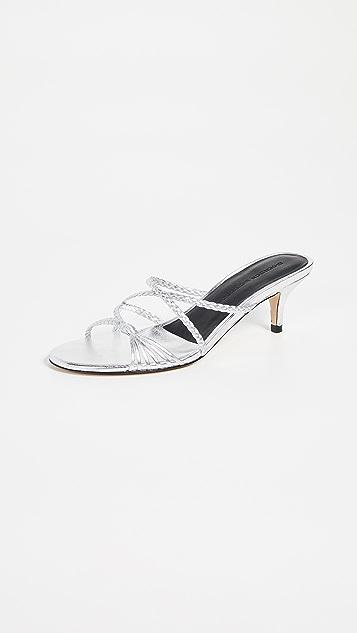 Sigerson Morrison Fyona Kitten Heel Slides