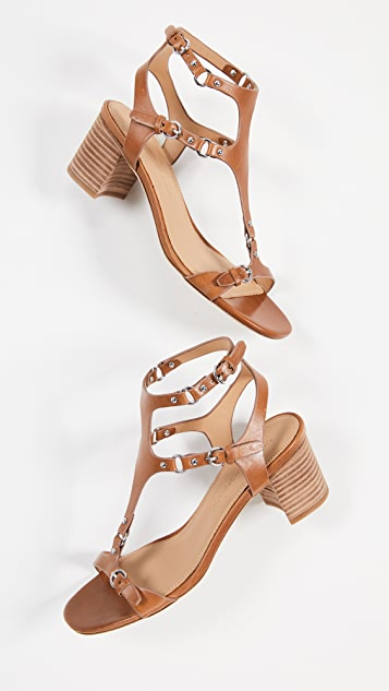 Sigerson Morrison Haven Block Heel Sandals