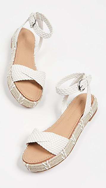 Sigerson Morrison Jaiyce Braided Sandals