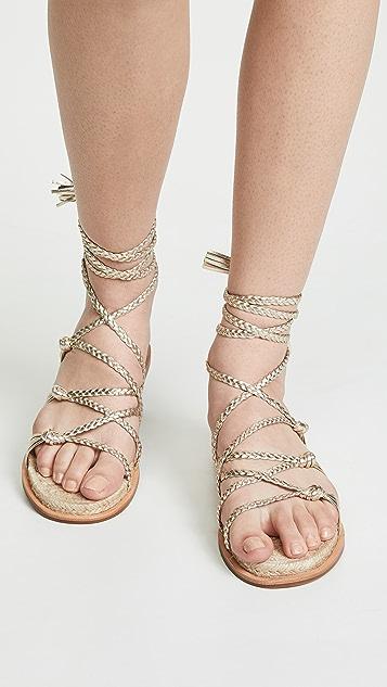 Sigerson Morrison James Braided Sandals