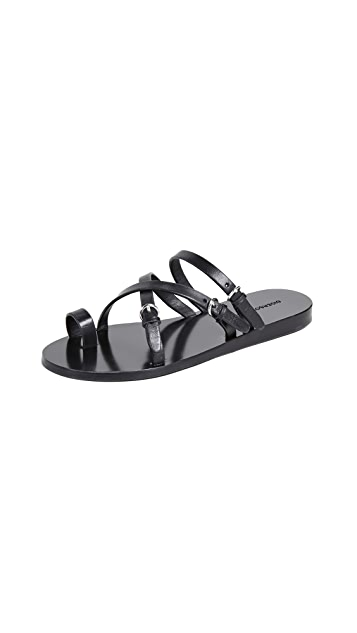 Sigerson Morrison Kaley Strappy Slide Sandals