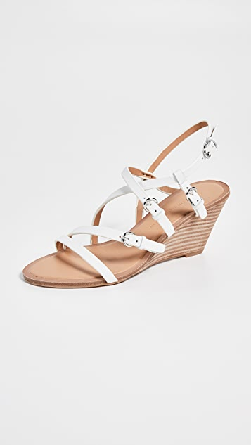 Sigerson Morrison Maia Demi Wedges Sandals