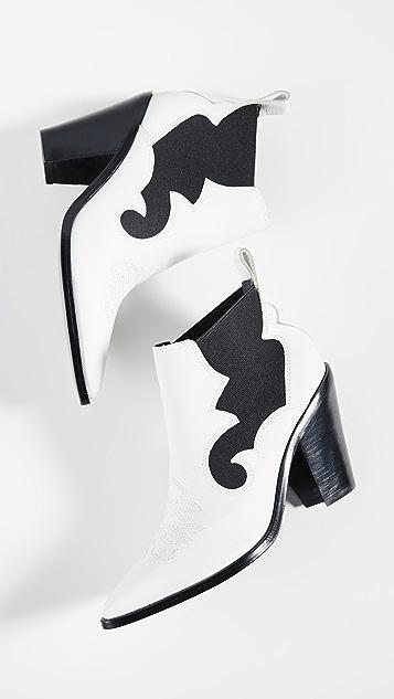 Sigerson Morrison Kaleb Western Boots