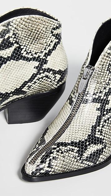 Sigerson Morrison Ботинки Hamish в ковбойском стиле