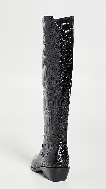 Sigerson Morrison Jaden 西部风格高筒靴