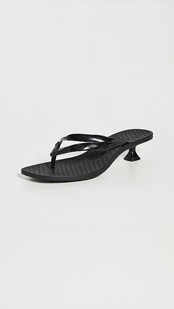 Sigerson Morrison Jewel Sandals