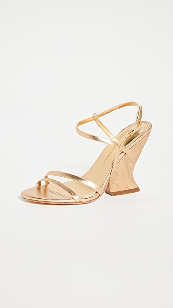 Sigerson Morrison Willa Wedge Sandals