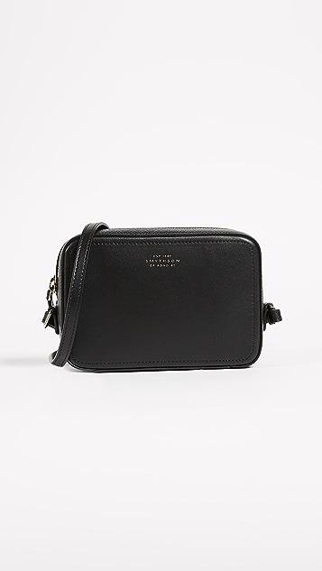 Smythson Panama Mini Cross Body Bag