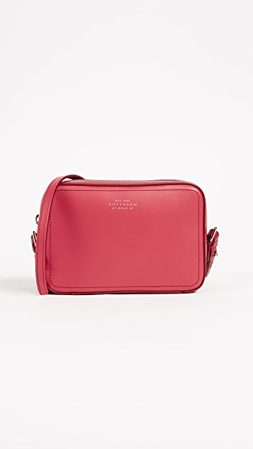 Smythson Panama Mini Cross Body Bag