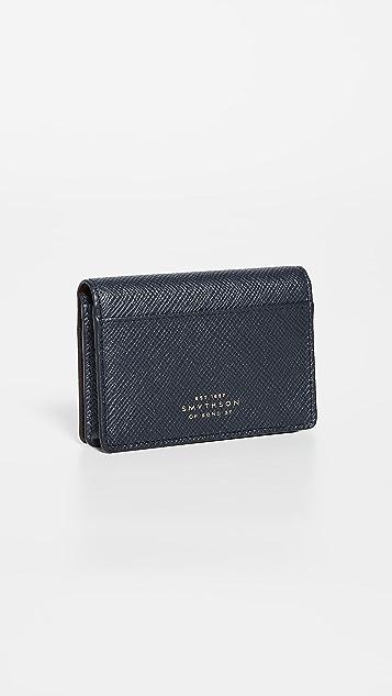 Smythson Panama Card Case