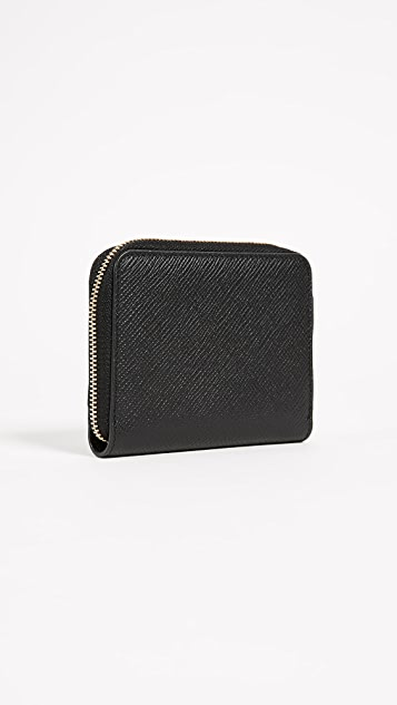 Smythson Panama Zip Coin Purse
