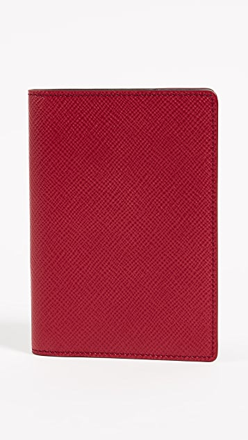 Smythson Panama Passport Cover