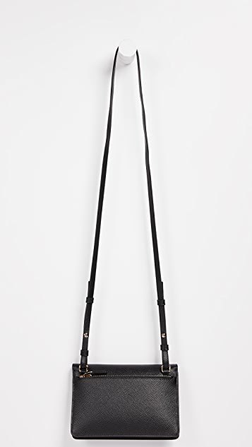 Smythson Panama Purse with Strap