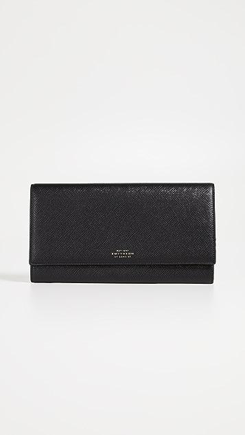 Smythson Marshall Travel Wallet