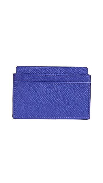Smythson Panama Flat Card Holder