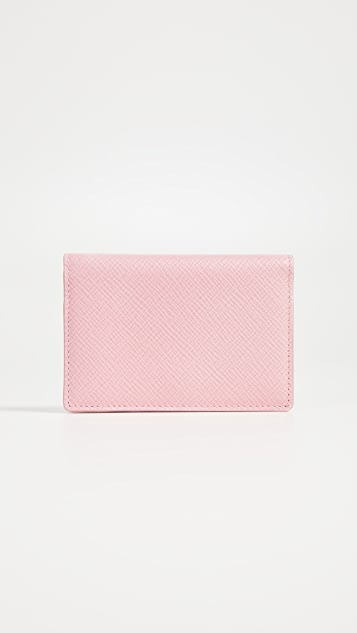 Smythson Panama Card Case
