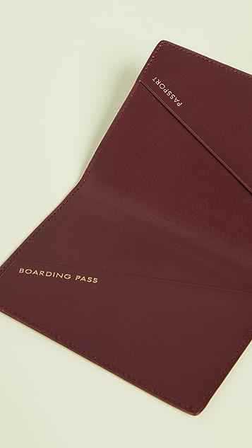Smythson Panama Passport Cover